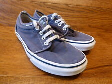 Vans Authentic Navy Canvas Trainers Size UK 4 EUR 36.5
