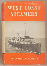 ISLE OF MAN STEAM PACKET, LIVERPOOL & NORTH WALES Duckworth WEST COAST STEAMERS