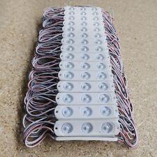 LED Channel letter module 12V 1.2W 130Lm white 7000K 170° IP68