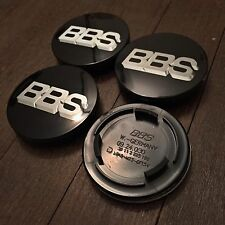 70mm BBS RS RM RF Style Badge Centre Caps Black Red Green Blue White Gold Silver