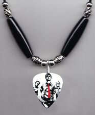 Green Day Band Photo Guitar Pick Necklace #3