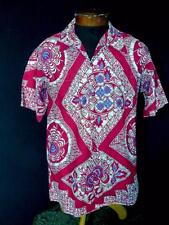 RARE COLLECTORS TOWER ISLE VINTAGE 1940'S TROPICAL  PRINT SHIRT SIZE MEDIUM