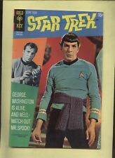 STAR TREK GOLD kEY SILVER AGE COMIC #9`Shatner & Nimoy photo on cover