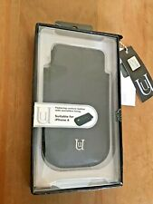 UUNIQUE SAFARI COUTURE GENUINE LEATHER PULL-UP CASE POUCH - APPLE IPHONE 4 4S