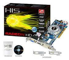 HIS Radeon HD 4350 HDMI 512MB (64 Bit) DDR3 AGP 8x Grafikkarte