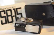 Nikon Speedlight SB-15 Shoe Mount Flash for FE2 FA FG N2000 F-301 N2020 FM2N