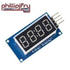 Tm1637 Led Display Module 7 Segment 4 Bits 036 Clock Red Anode Digital Tube