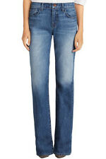 New $228 J BRAND 8034 SABINE SWAN SONG HIGHRISE RELAXED FLARE DENIM JEANS 26