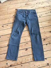 Levi's 505 Big E Redline Orillo Jeans Tamaño 34x32 Levis Vintage