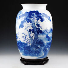 China jingdezhen Handmade Blue&white antique Home accessories Porcelain vase