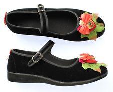 Fairy Princess Flower Shoes Flats Pastel Goth Fae Kei Kawaii Decoden 38 5.5