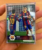 Pedri Topps Now Rookie Card FC Barcelona Excellent Condition.