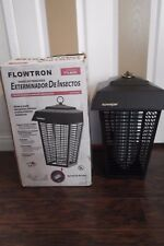 FLOWTRON OUTDOOR INSECT KILLER ~ ATTRACTS & KILLS FLYING INSECTS - NEW IN BOX