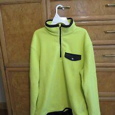 Men's Polo Raplh Lauren Mock 1/4 Zip fleece Pullover size L brand new NWT $145