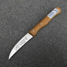 Solinger Schälmesser Carbon H. Herder extra lang 17cm nicht rostfrei Solingen