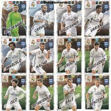 Fußball-Saison 2017-2018 Real Madrid Trading Cards