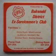 BALRANALD DISTRICT EX-SERVICEMEN'S CLUB 201205 COASTER