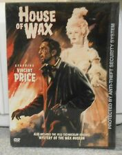 House of Wax (DVD, 2003) RARE HORROR VINCENT PRICE 1953 BRAND NEW
