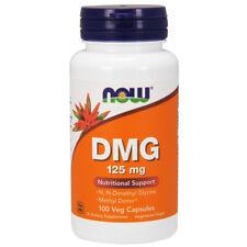 DMG, 125mg x 100 Veg Capsules - NOW Foods