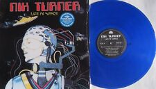 LP NIK TURNER Life In Space  BLUE VINYL Purple Pyramid ‎CLO 0605 (Hawkwind)