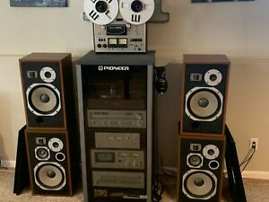 Complete Vintage Pioneer Stereo System- All pieces serviced!