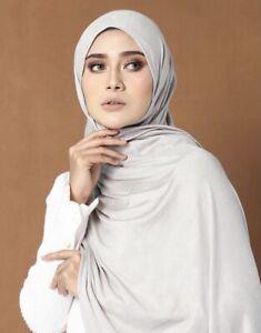 Jersey Hijab Muslim Women Scarf Fashion Various Colour Hijab - Brand New