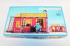 PLAYMOBIL 3431 Sistema Klicky Wells Fargo & Co. Casa Forjado Oeste emb.orig