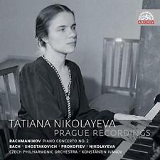 Tatiana Nikolayeva - Prague Recordings - Music By Rachmaninov J.S. Bac (NEW 2CD)