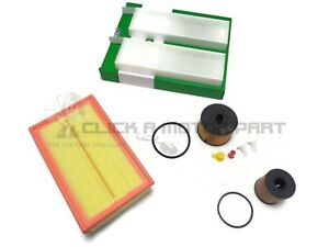 Citroen C4 Picasso 2.0 HDi 06-12 Oil Air Diesel Fuel Cabin Filter Service Kit