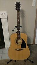 Fender FA-100 Acoustic Guitar - Natural Finish