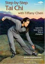 Step by Step Tai Chi with Tiffany Chen - DVD By Tiffany Chen - GOOD