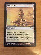 MTG 1x Ancient Den Mirrodin Set Artifact Land Magic the Gathering Card