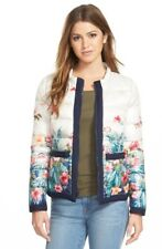 NEW Tommy Bahama Women's 'beachy Blossoms' Quilted Down Jacket Size M