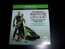 Kinect Sports Rivals DLC CODE ONLY XBOX ONE - 12 Bonus items! - No Game Included