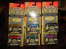Matchbox Premier 1995 Series #2 All 6 NOC
