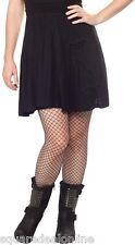 """130453 Black """"Bats in the Belfry Skirt Sourpuss Goth Punk Pinup Dark Small S"""