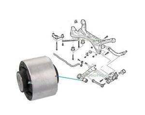 FOR SAAB 9-3 REAR FRONT LH OR RH AXLE TRAILING ARM BUSH 02-12