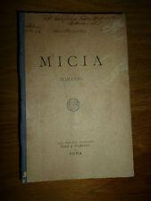 AMILCARE LAURIA MICIA Roma  Roux e Viarengo 1893 invio Autografo in copertina