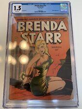 Brenda Starr #14 CGC 1.5, Classic Bondage Cover, Rare Comic