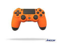 PS4 Custom Wireless Controller (Soft Touch Orange)