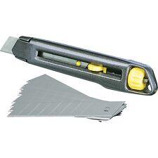 Stanley Cutter Interlock, 18mm, Teppichmesser, anthrazit
