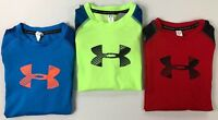 Boy's Youth Under Armour Heat Gear Long Sleeve Shirt