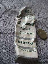 Meltonian Wren Ltd. tube of shoe cream, neutral, vintage, 1953