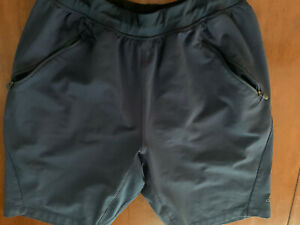 Men's Adidas Transitional Athletic Shorts Performance Training Medium Navy Blue