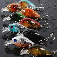 Fishing Lures Baits Vivid Crankbaits Hooks Minnow Baits Tackle 4.5cm/4g BDA Jf