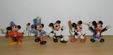 Complete Set PVC Figurine Walt DISNEY MICKEY MOUSE hobbies Comics Spain 1980's