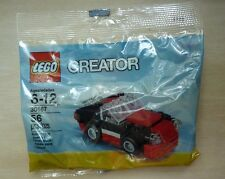 LEGO 30187 black and red fast car poly bag, from 2014