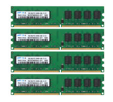 For Samsung 8GB 4X 2GB DDR2 800MHz 2Rx8 PC2-6400U CL6 DIMM Desktop Memory RAM @4