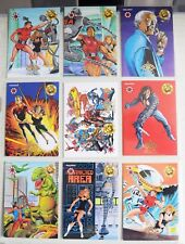 The Valiant Era: A History Upper Deck / Pyramid - 1993 UNSEEN ART CHASE SET