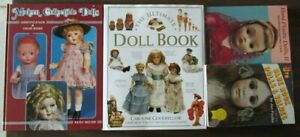 Lot of 4 Collector Guide Value on Books Vintage and Modern Dolls